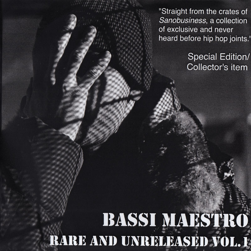 Bassi Maestro – Rare & Unreleased vol.1 (digital album)