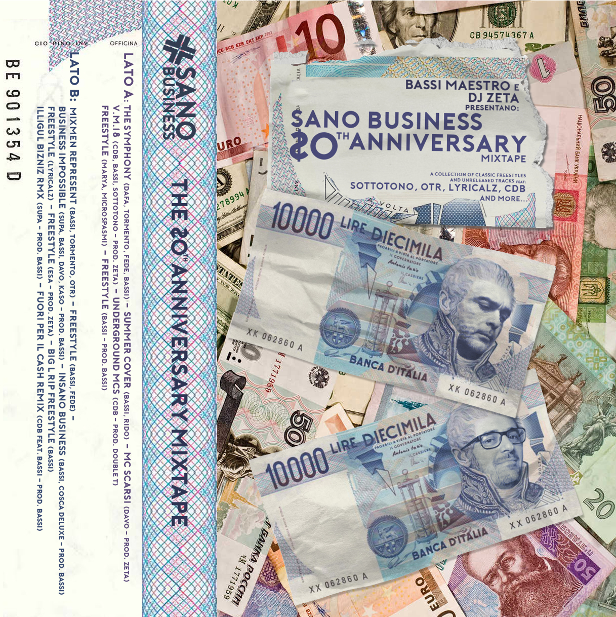AAVV – SanoBusiness 20th Anniversary Mixtape